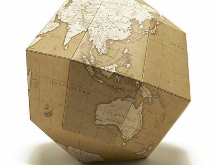 """""""MATERIAL"""" globe"""
