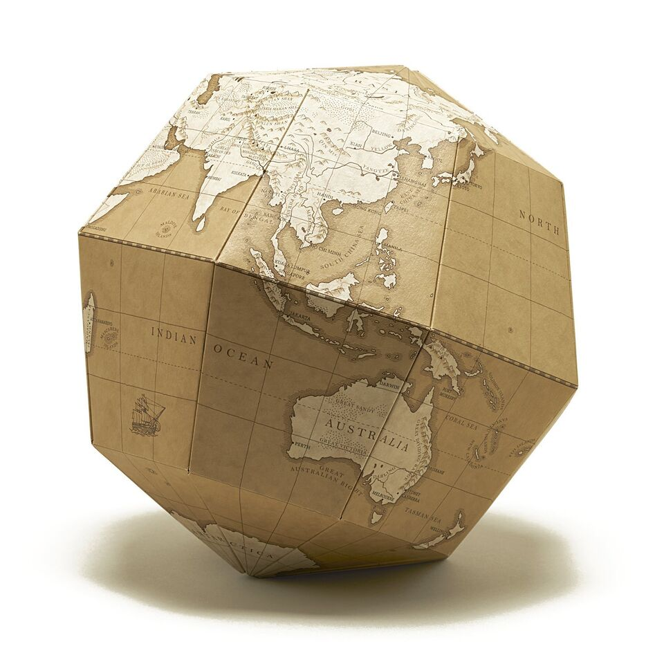 Bola del món MATERIAL