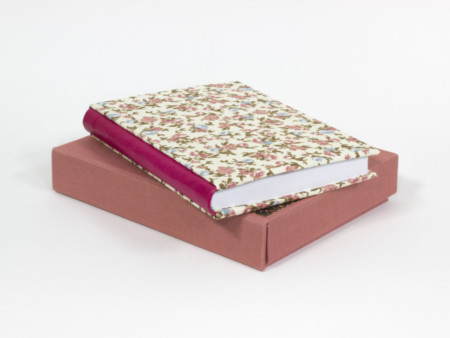 Romantic book with case