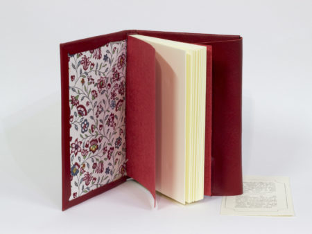 Red leather book