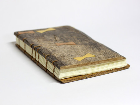Oak wood book