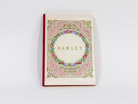 Vista de la portada de Hamlet