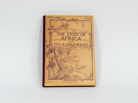 Vista de la portada del libro The story of Africa