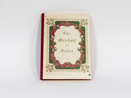 Vista de la portada del libro El Mercader de Venecia