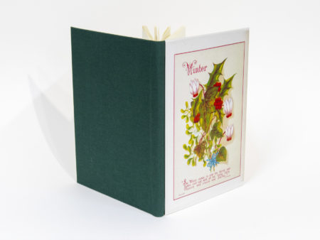 Vista de las tapas delantera y trasera del libro Winter