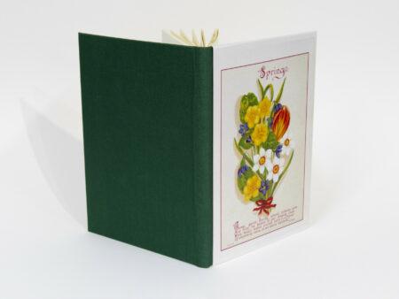 Vista de portada y contraportada del libro Spring