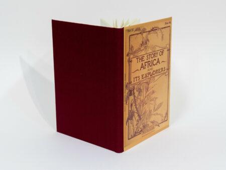 Vista de las tapas delantera y trasera del libro The story of Africa