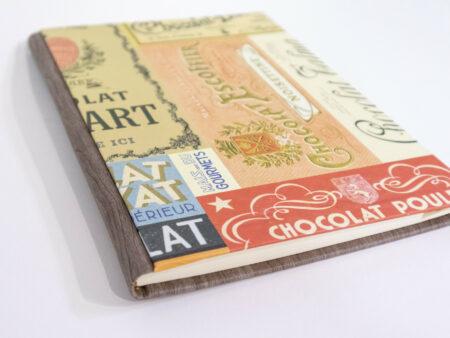 Libro de recetas de cocina - Detalle de la portada