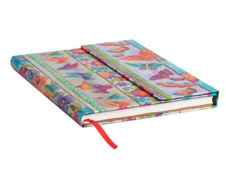 Vista general libreta Paperblanks Mariposas y colibrís